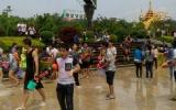 龙瑞项目员工参加傣族泼水节